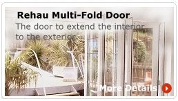 Rehau Multi Fold Door